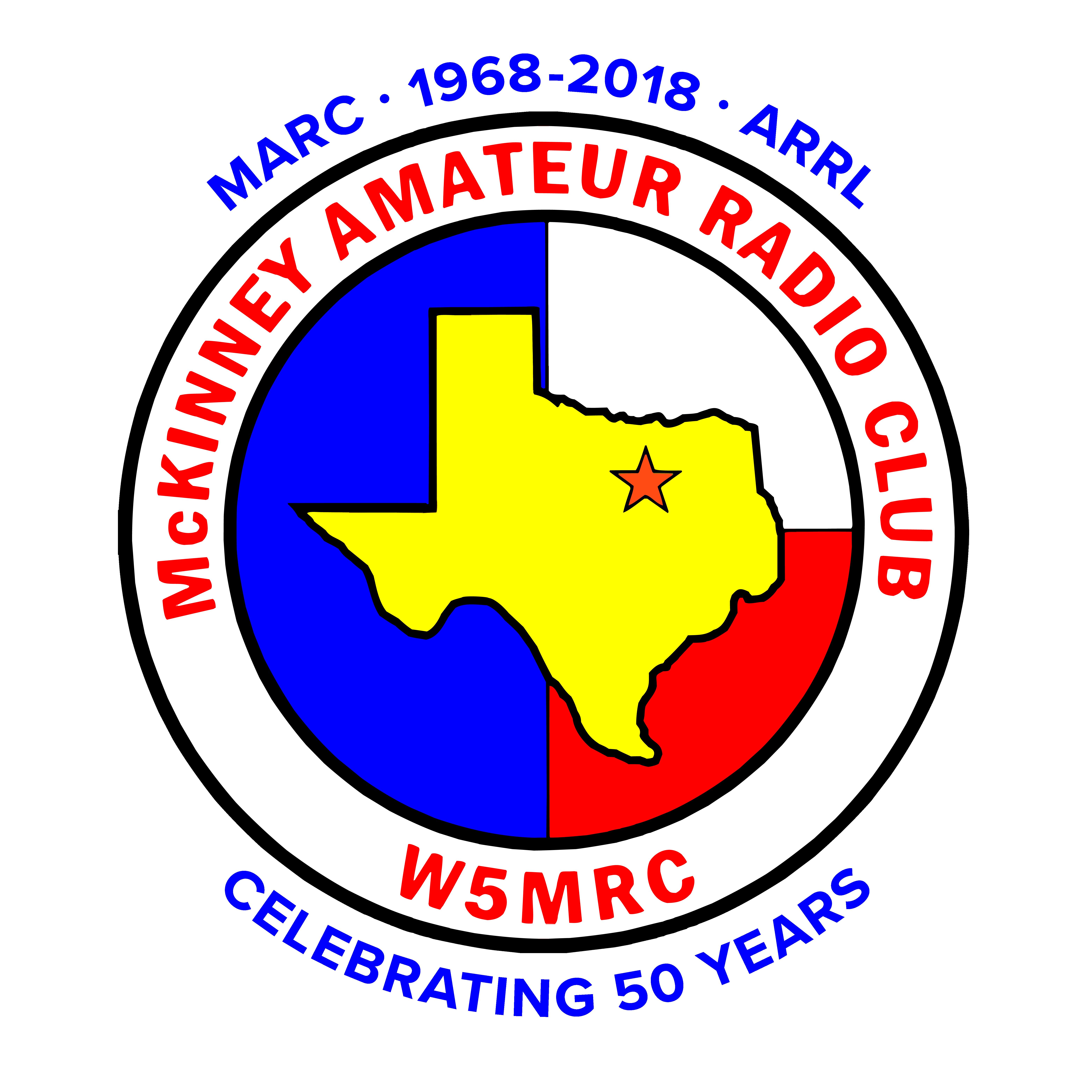 50th Anniversary W5MRC logo